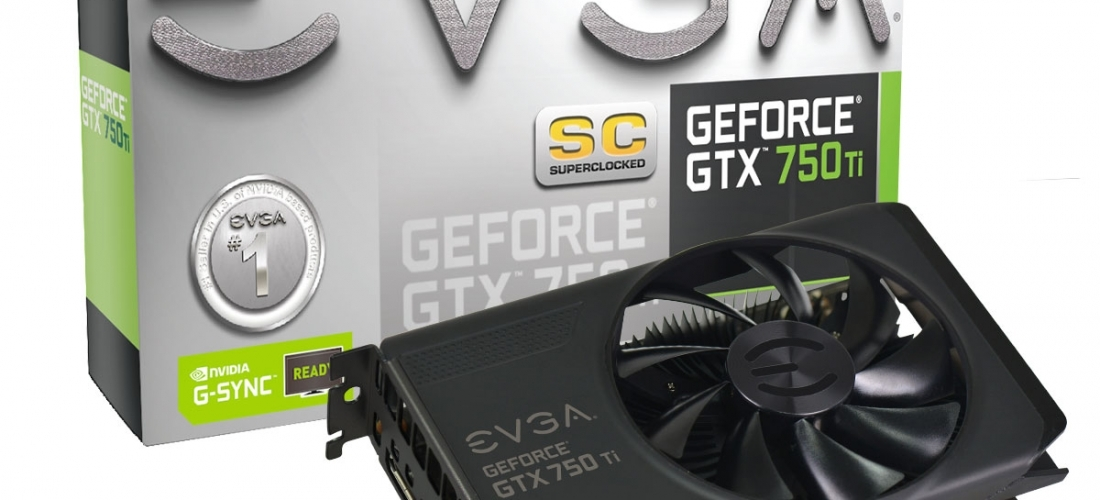 placa de video geforce EVGA GTX 750 TI